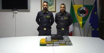La cocaina sequestrata al porto di Gioia Tauro