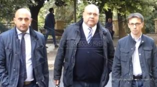 Gli avvocati Cozza, Gentile e Vincenzo Chindamo