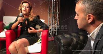 """""""Fai silenzio…"""", la parola contro la 'ndrangheta. Applausi per Marisa Manzini al Festival Leggere e Scrivere"""