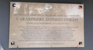 La Compagnia dei Carabinieri di Serra San Bruno intitolata all'eroe Antonio Corapi