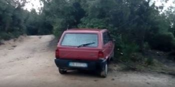 L'auto di Francesco Rosarno