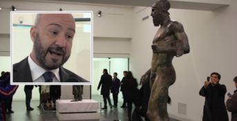 Carmelo Malacrino e la sala dei Bronzi di Riace