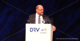 Meeting sul turismo a Reggio, Schulz: «Da qui un'asse Europa-Africa»