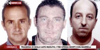 Tragedia a Isola Capo Rizzuto, il ricordo degli operai morti nel crollo