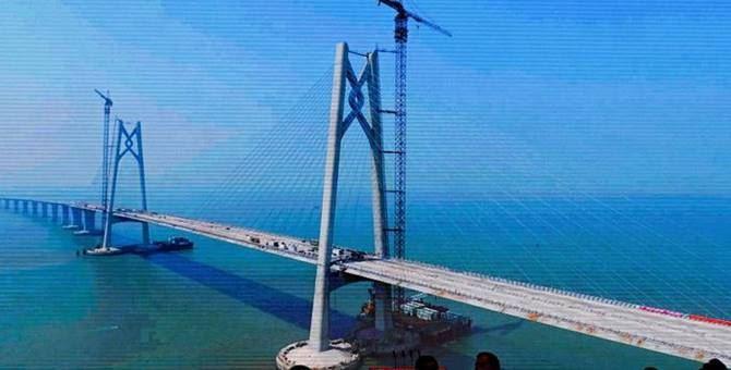 Il ponte che collega Hong Kong a Macao