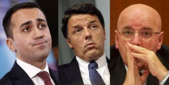 Di Maio, Renzi e Oliverio