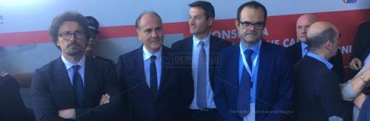 Il ministro Toninelli a Reggio: «L'Italia riparte se riparte il Sud e in particolare la Calabria»
