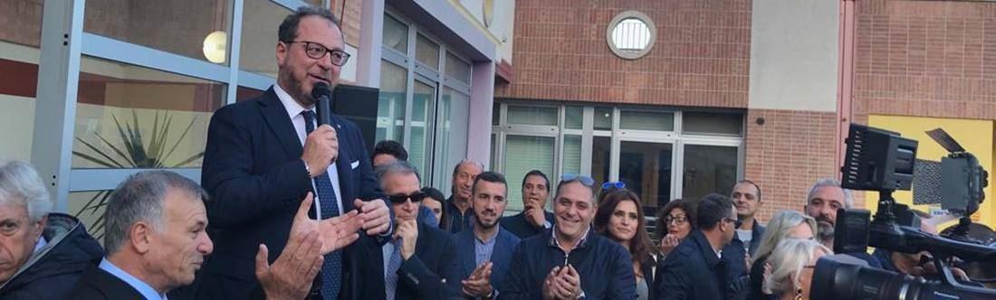 L'inaugurazione della sede di Forza Italia a Catanzaro