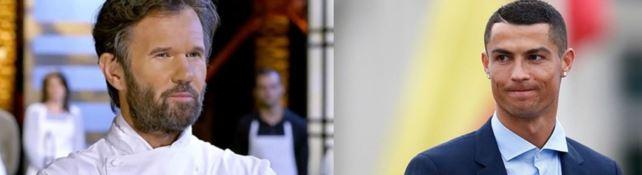 Carlo Cracco e Cristiano Ronaldo