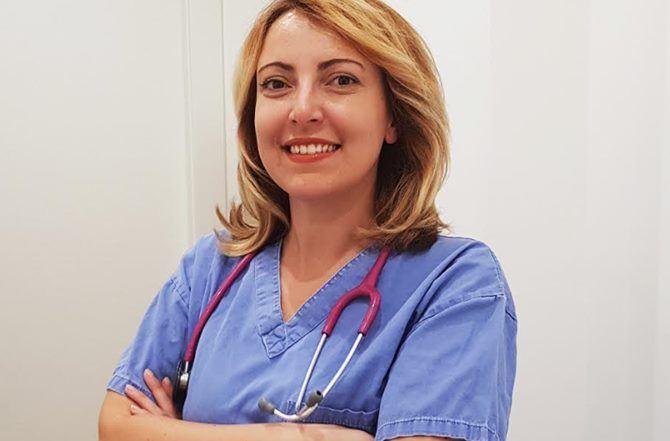 La dottoressa Maierù