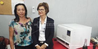 Dialisi a Tropea, la nuova sterilizzatrice donata dall'Aned