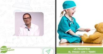 La pediatria al passo con i tempi, il WhatsApp del dottor Giuseppe Raiola