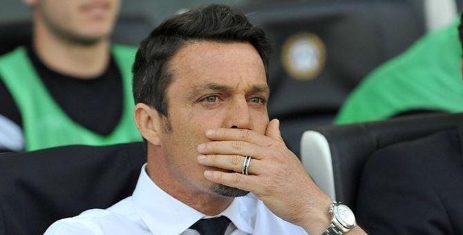 Il nuovo allenatore del Crotone, Massimo Oddo