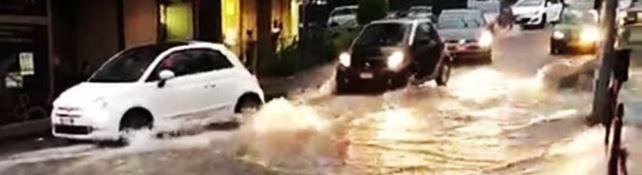 Il maltempo flagella la Calabria. Temporali, allagamenti e voli cancellati