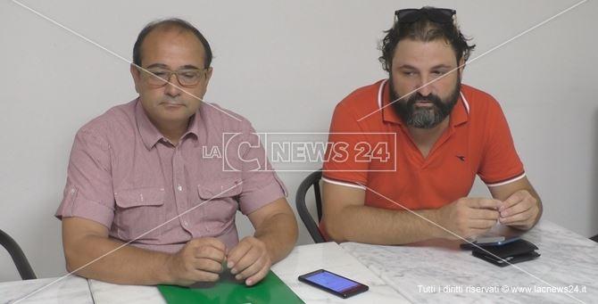 I consiglieri comunali pentastellati di Crotone Ilario Sorgiovanni e Andrea Correggia