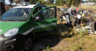 Discarica abusiva di rifiuti sequestrata nel Vibonese