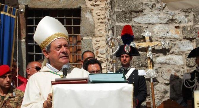 Il vescovo Oliva a Polsi - Repertorio