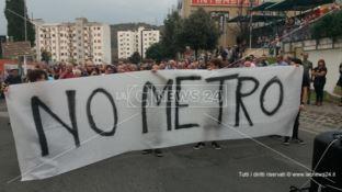 Cosenza, i No Metro pronti a protocollare tremila firme per bloccare l'opera