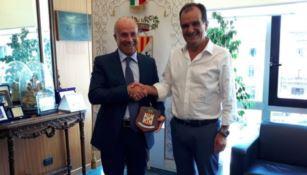 Provincia di Catanzaro, visita del neo presidente della sezione controllo della Corte dei Conti