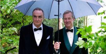 Ivar e James, i primi sposi gay nella storia della Corona britannica