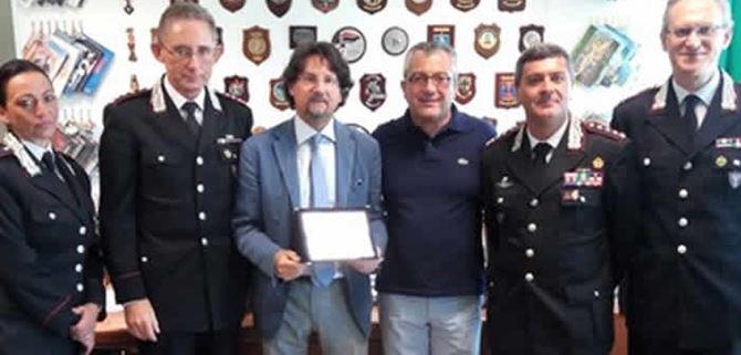 La consegna del Premio al procuratore Bombardieri
