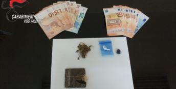 Droga e contanti in casa, un arresto nel Vibonese