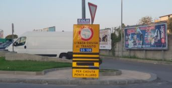 Ponte Allaro chiuso ai mezzi pesanti: sopralluogo del Prefetto