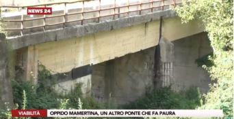Un altro ponte chiuso ai mezzi pesanti, pericolo a Oppido Mamertina