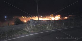 Riviera dei cedri avvolta dalle fiamme, incendio più vasto a San Nicola Arcella