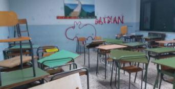 Raid vandalico in una scuola del Vibonese