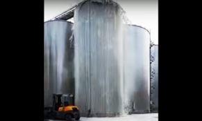 Incidente in cantina, 30mila litri di prosecco traboccano dal silos