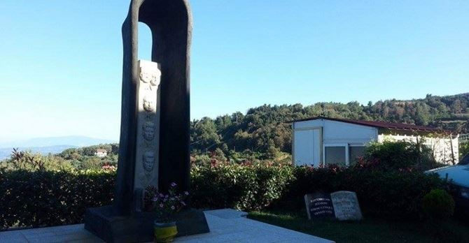 Monumento in ricordo delle vittime