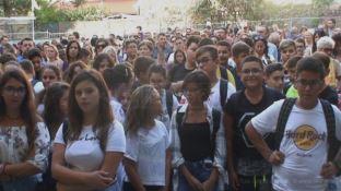 Catanzaro, si torna a scuola: le emozioni di studenti e genitori