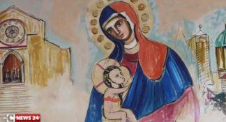 L'arte a Palazzo dei Bruzi. In anteprima gli affreschi di Sciacca dipinti nella sala consiliare