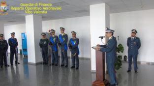 Cambio al vertice del Reparto aeronavale Gdf di Vibo, Alberto Catone nuovo comandante