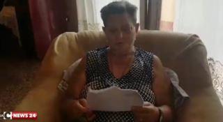 Reggio, la signora Maria