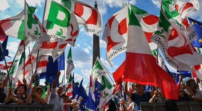 La manifestazione di oggi a Piazza del Popolo