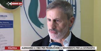 Alemanno a Vibo: «Inchieste contro Salvini saranno un boomerang»