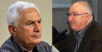 Il commissario Massimo Scura con l'ex dg dell'Asp di Reggio Giacomino Brancati