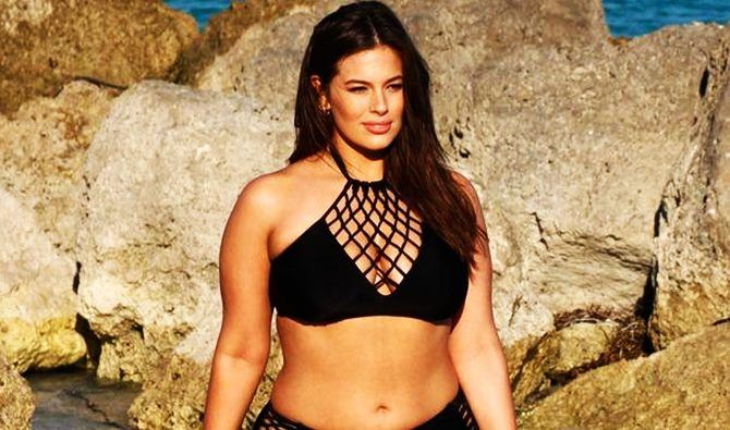 La modella Ashley Graham
