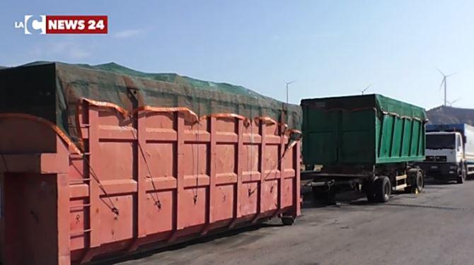 Container con rifiuti