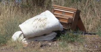 Un piccolo esempio dei rifiuti trovati