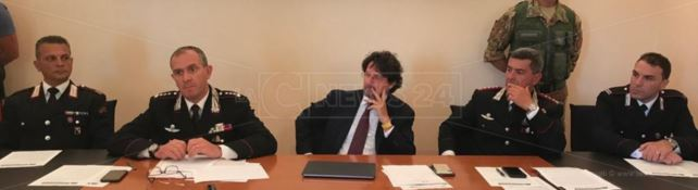 La conferenza stampa