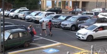 Il parcheggio Papa di Pizzo