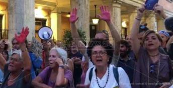Dl sicurezza, Laforgia (Leu) al sit-in di protesta di Roma