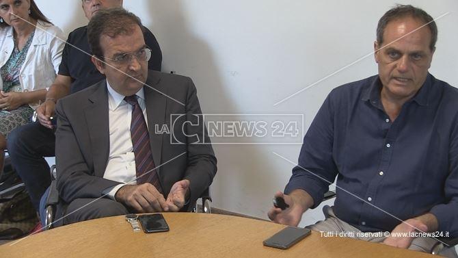 Mario Occhiuto e Damiano Covelli