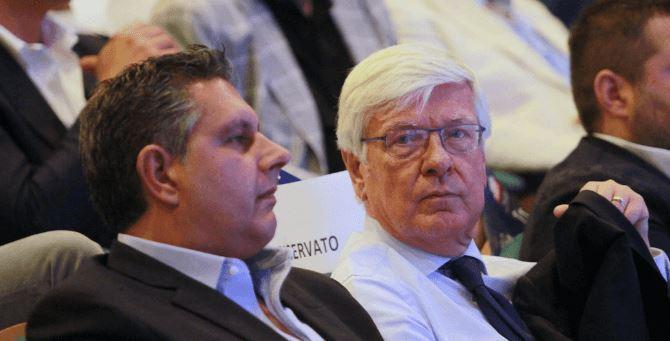 Giovanni Toti e Paolo Romani