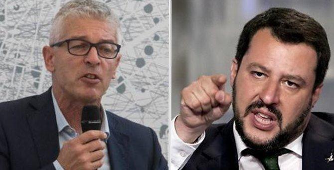 Nicola Morra e Matteo Salvini