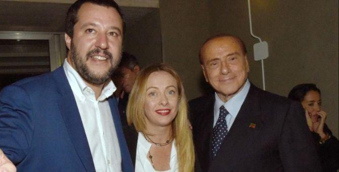 Conte bis, Berlusconi attacca Salvini e Meloni