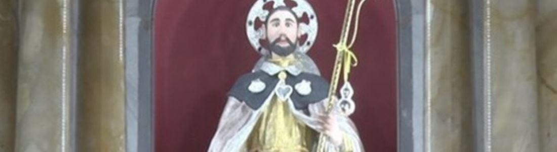 La statua di San Rocco venerata a Cosoleto